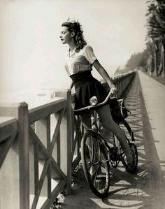 vintage bike beach cruiser bicycle