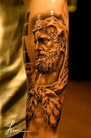 Image result for hercules tattoo sleeve
