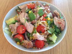 Gunns momsemat: Spicy kyllinglårsalat