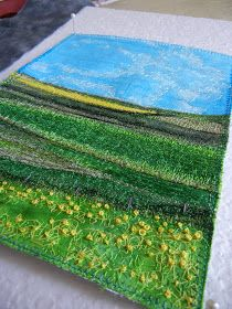 My Sweet Prairie Studio / Art by Monika Kinner-Whalen: * Fibre Art