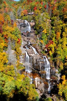 Whitewater Falls, Sapphire, North Carolina; photo by Alan Lenk