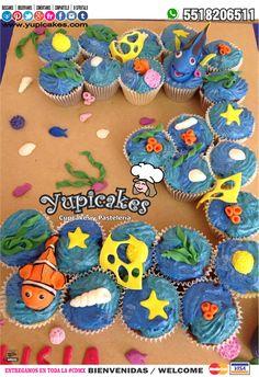 ¿Buscas sorprender con deliciosos #pasteles a tus niños en su fiesta de cumpleaños? 😉✨ Este #pastel de #Quequitos de #BuscandoADory será ideal para tu evento! ✨ Cotiza en línea en 👉 www.facebook.com/yupicakes 👈 o vía WhatsApp al ☎ 5518206511 🔺 ENTREGAMOS EN TODA LA CDMX 🔺 #Yupicakes #CDMX #Cupcakes