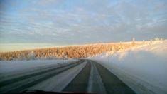 Road To Ivalo from Saariselkä...magneettimäki
