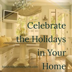 This year invite your friends and family over for the great company - and to show off your remodeled living areas! If your #kitchen dining room or living room needs new paint or a complete overhaul call Handyman House Techs today to talk about your options to fit your budget! (228) 297-0063