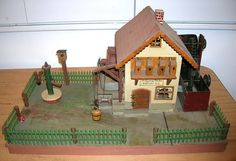 Liebevoll gebauter alter Bauernhof / Hammerwerk mit Funktionen - gebaut 1933