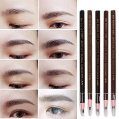Women Beauty Makeup Eyebrow Pencil Enhancer Soft Crayon Waterproof Pencil For Eyebrow 5 Colors Free Shipping #>=#>=#>=#>=#> Click on the pin to check out discount price, color, size, shipping, etc. Save and like it!