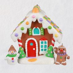 Gingerbread Surprise Mystery Box Exclusive Ornaments, Set of 2 - Keepsake Ornament Club - Hallmark $24.99