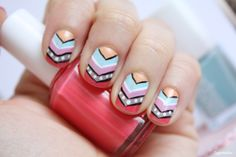 Chevron nails | Zygomatics journal