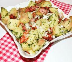 Salata de cartofi cu bacon #reteta #salata Potato Salad, Salad Recipes, Cabbage, Bacon, Salads, Potatoes, Vegetables, Ethnic Recipes, Food
