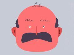 Dude by Allen Laseter #Design Popular #Dribbble #shots