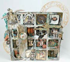A Fond Farewell to Miranda Edney #graphic45 with a Steampunk Spells configuration box; June 2015