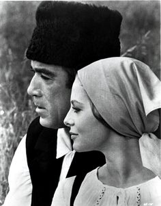 Anthony Quinn and Virna Lisi in La Vingt-cinquième Heure directed by Henri Verneuil, 1966 Classic Hollywood, Old Hollywood, Lion Of The Desert, Carlo Ponti, Zorba The Greek, Lawrence Of Arabia, Anthony Quinn, Best Supporting Actor, Italian Actress