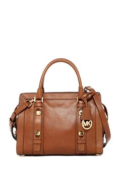 Medium Collins Leather Satchel by MICHAEL Michael Kors on @nordstrom_rack