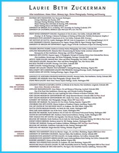 If you are an artist and you need to make a resume, you need to make a resume that can tell yourself in professional way. You can choose Artis...