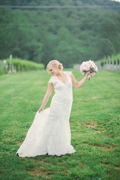 Allure Bridals Style 8764 - Wedding Photography: Stephanie Messick Photography