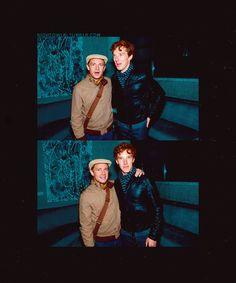 Martin Freeman & Benedict Adooorable