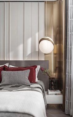 Modern Classic Bedroom, Latest Bedroom Design, Interior Design Masters, Bedroom Furniture Design, Luxurious Bedrooms, Bed Design, Luxury Interior, Home Bedroom, Villa