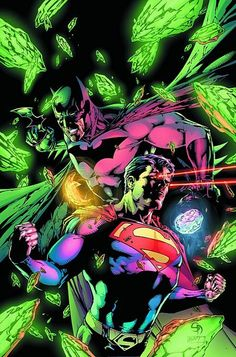 Batman and Superman by Shane Davis