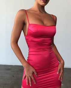 Shop Our Range of Long Black Halter Prom Dresses with slit. FansFavs: Your Fashion & Style Destination! Get Personalized Size Recommendations With FansFavs Fit Assistant. Tight Dresses, Satin Dresses, Sexy Dresses, Cute Dresses, Short Dresses, Fashion Dresses, Prom Dresses, Satin Bodycon Dress, Satin Mini Dress
