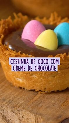Gourmet Desserts, Delicious Desserts, Dessert Recipes, Yummy Food, Frozen Yogurt Recipes, Sugar Cravings, Easter Cookies, Perfect Food, Coco