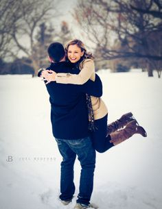 Winter Engagement - Joel Bedford Photography