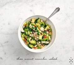 thai coconut cucumber salad