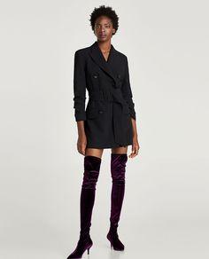 DRESS BLAZER-Mini-DRESSES-WOMAN | ZARA United States