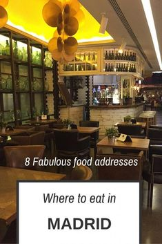 Where to eat in Madrid pin me