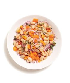 White Bean Salad | Whether they're served alongside a main ingredient or playing a prominent role in a meal, canned beans are a quick and easy way to add a healthy boost of protein to any dish.