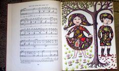 Every Child's Book of Nursery Songs 1968 by by ArtandBookShop, $10.00