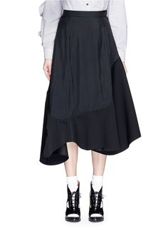 TOGA Asymmetric Ruffle Hem Skirt. #toga #cloth #skirt