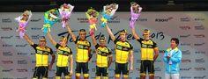 Victory in 2013 Tour de Korea stage 5