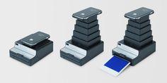 """Polaroid Printer"" - Turn your Iphone's photos into paper."