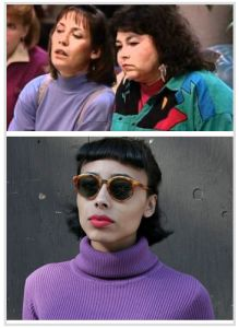 '80s and '90s inspiration for hipsters who wanna dress like Jackie from Roseanne