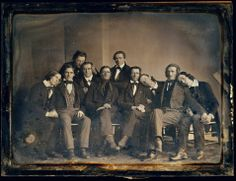 """""""The Hutchinson Family Singers were an American family singing group who became the most popular American entertainers of the 1840s. The group sang in four-part harmony a repertoire of political, social, comic, sentimental and dramatic works, and are considered by many to be the first uniquely American popular music performers."""" [Via Retronaut]"""