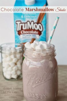 Chocolate Marshmallow Shake #TruMoo