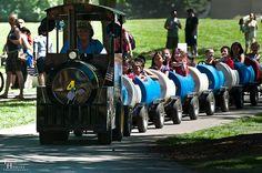 50 Gallon Barrel Train by Todd_Hobert, via Flickr