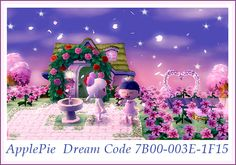 Animal Crossing New Leaf, ACNL, Path, Dress, Water, QR Codes, Town Idea, Campsite, Town Hall, Re-Tail, Town Plaza, Stadtkarte, Wege, Kleidung, Ideen, Inspiration ♡ Apples ♡ ApplePie ♡ Dream Code 7B00-003E-1F15 ♡