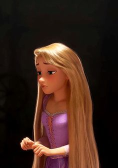 Rapunzel is so beautifully animated