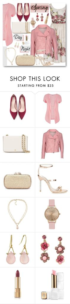 """""""Spring Day to Night"""" by brendariley-1 ❤ liked on Polyvore featuring Zara, maurices, Tory Burch, Drome, Sophia Webster, Carolee, Topshop, Lulu Designs, Betsey Johnson and Dolce&Gabbana"""