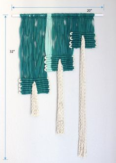Macrame Wall Hanging Ko Phi Phi by HIMO ART One of a by HIMOART