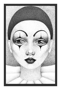 Pierrot by `laurart on deviantART