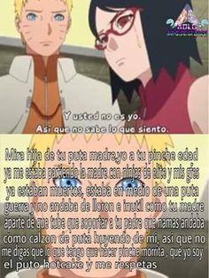 Naruto y Sarada Anime Naruto, Sasuke X Naruto, Naruto Cute, Sakura And Sasuke, Otaku Anime, Naruto Uzumaki Shippuden, Boruto 2, Familia Uzumaki, Super Anime