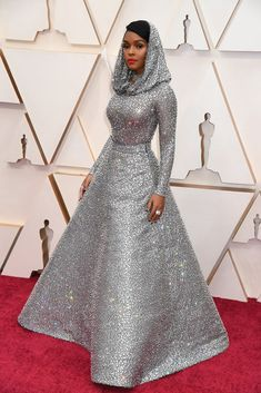 All of the red-carpet looks from the Oscars including Billy Porter, Billie Eilish, and Janelle Monáe. Gucci Gown, Versace Dress, Tilda Swinton, Lucy Dresses, Pretty Dresses, Penelope Cruz, Christian Siriano, Natalie Portman, Brad Pitt