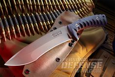 Rustick Knives unleashes the Kraken, a no-frills combat/survival blade ready for the battlefield.