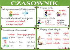 NAUCZANIE GRAMATYKI W EDUKACJI WCZESNOSZKOLNEJ | Dla Belfra English Vocabulary, Our Kids, Learn English, Preschool Activities, Periodic Table, Homeschool, Teacher, Education, Learning