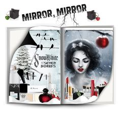 """mirror, mirror #snowwhite (#266)"" by nobility99 ❤ liked on Polyvore featuring beauty, Estée Lauder, NARS Cosmetics, Christian Dior, Stila, Kat Von D, Lancôme, Essie, Nina Ricci and Eve Snow"