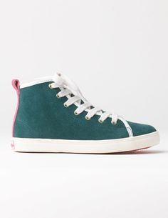 Mini Boden Suede High Tops