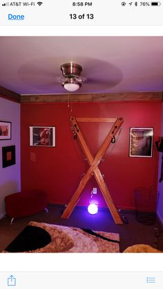 St Andrew cross built for medieval reenactment. St Andrews Cross, Red Rooms, Play Spaces, Gothic House, Erotic Art, Playroom, Diy Furniture, House Design, Room Stuff
