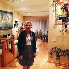 """Big Bid Bash attendees will have the unique opportunity to bid on a """"Tours and Cocktails"""" experience with 2017 honoree Dorothy Saxe! This fantastic live auction item includes cocktails hors-d'oeuvres and a personal tour with Dorothy Saxe in her Menlo Park home for up to eight guests! Her distinguished collection represents craft at its finest in wood metal fiber clay glass and alternative materials. Make sure you have your Big Bid Bash tickets and are ready to bid for the chance to see her…"""